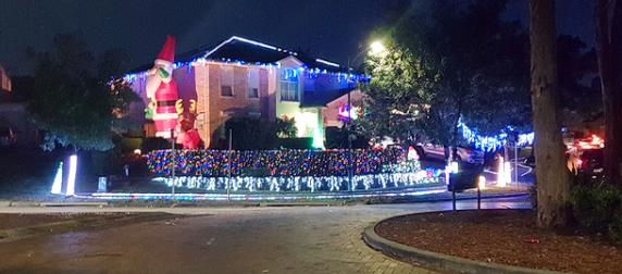 Mount Annan Christmas Lights