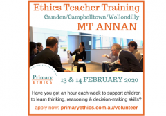 Ethics Teacher Training at Mount Annan